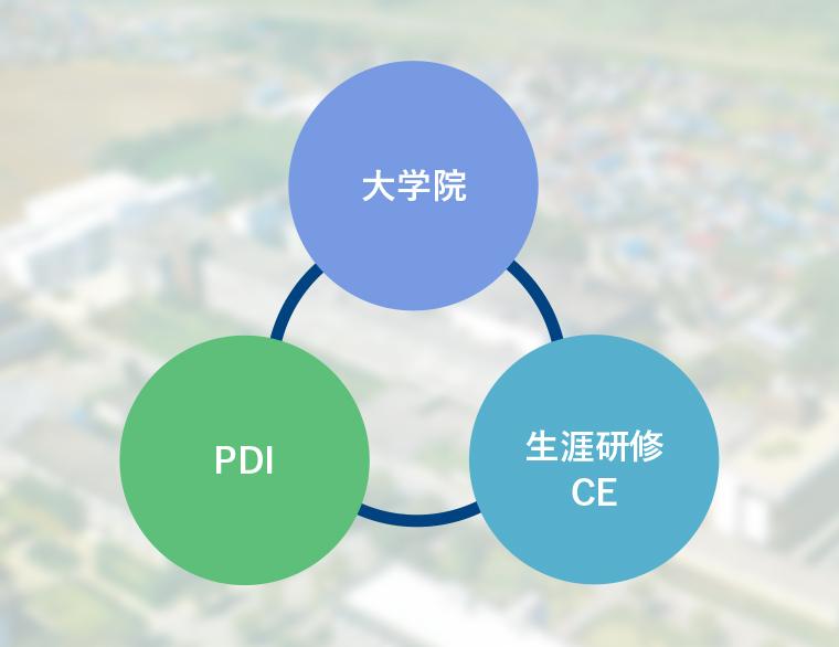 大学院 PDI 生涯研修CE